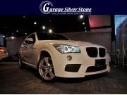 2014y BMW X1 x-DRIVE 20i Mスポーツ アルピンホワイト� 走行40,000� ナビ・TV・バックカメラ